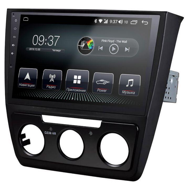Штатная магнитола для Skoda от AudioSources: T200-1000S