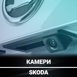 Штатні камери для Шкода