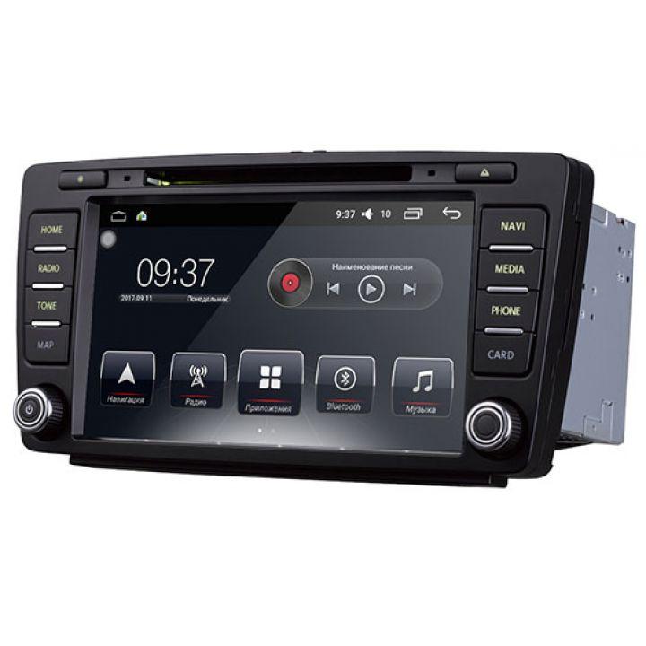 Штатная магнитола для Skoda от AudioSources: T90-680A