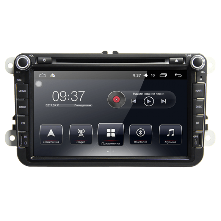 Штатна магнітола для Volkswagen від AudioSources: T90-810AR