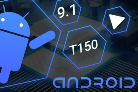 Магнитола T150-1060S на Android 9.1