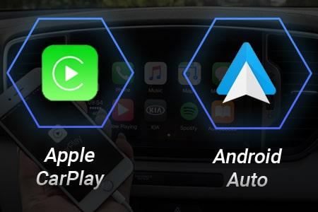 Дополнительные возможности: Apple Car Play и Android Auto